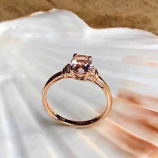 Morganit Brillant Ring