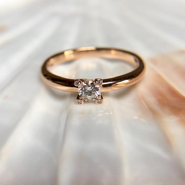 Verlobungsring Solitaire