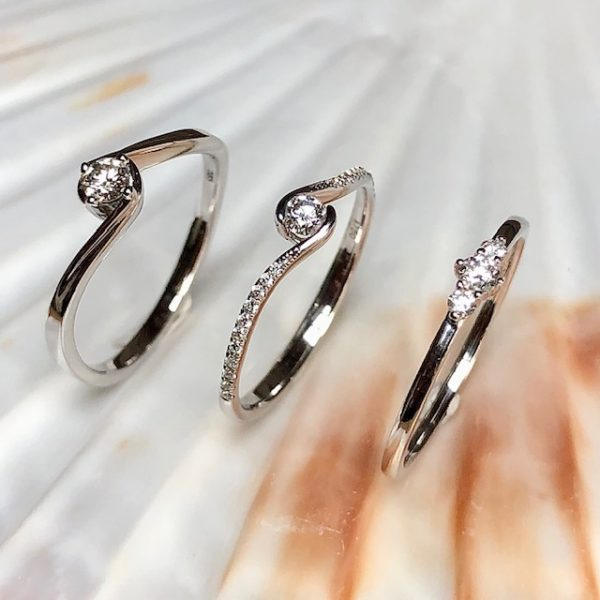 3 Verlobungsringe