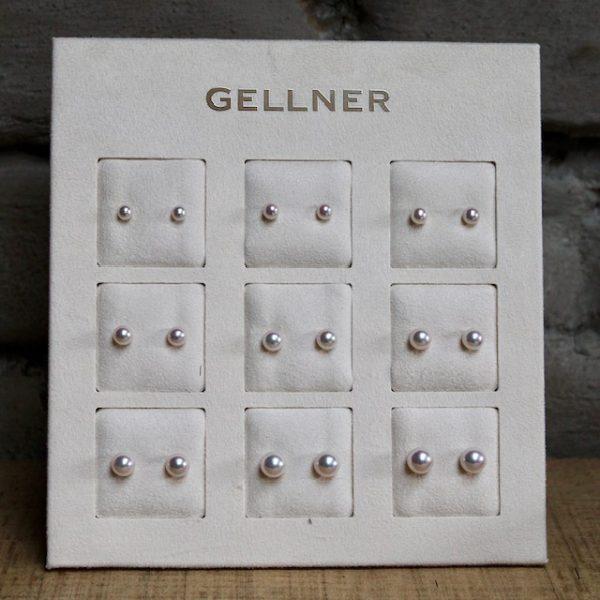 Vorschau 9 verschiedene Größen Akoya Zuchtperl Ohrstecker Japan von Gellner bei Juwelier Haarhaus