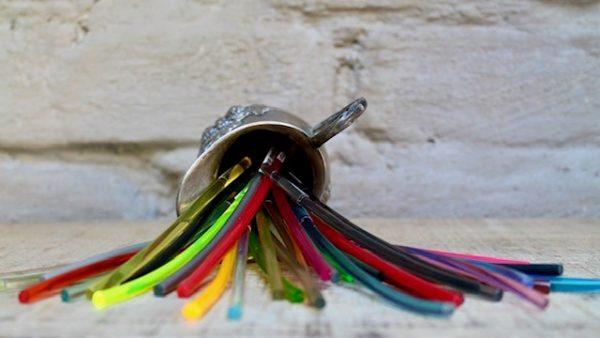 Monika Seitter Kunststoff Ringe Farben bunt Design
