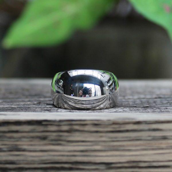 Quinn-Cocktailring-mittel-poliert-0227816 breiter Ring