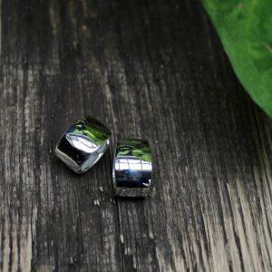 Quinn-Creole-Silber-breit-0368610 sitzt perfekt am ohr durch tiefen Stift auch bei Problem Ohrläppchen