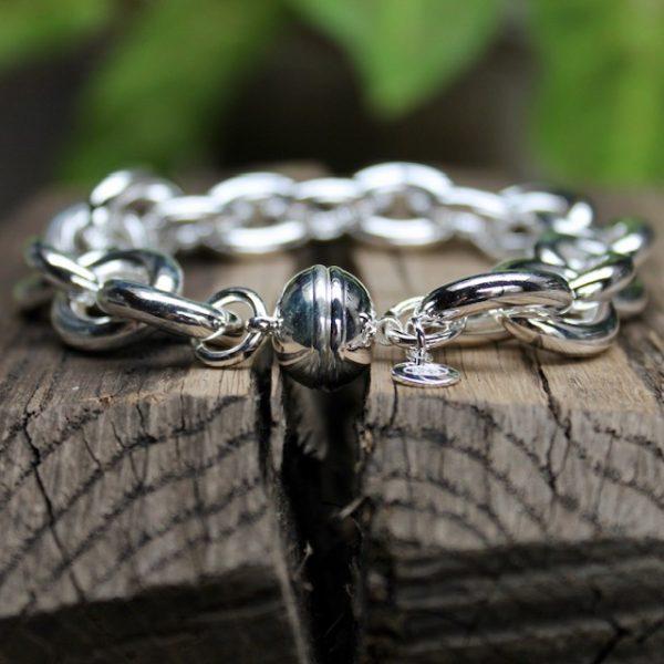 Quinn-Rundanker-Silberarmband-Magnetverschluss-hinten-0280613