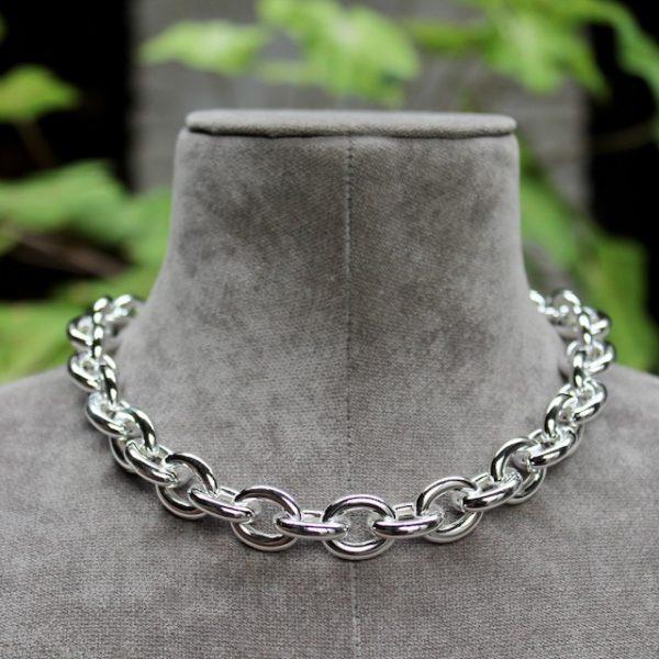 Quinn-Silberkette-Magnetverschluss-0270614-vorn Rundanker grosse Glieder