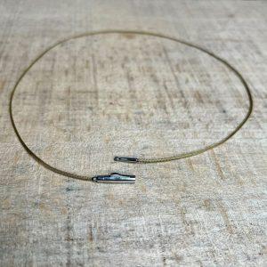 Schmuckwerk-Textilband-olive