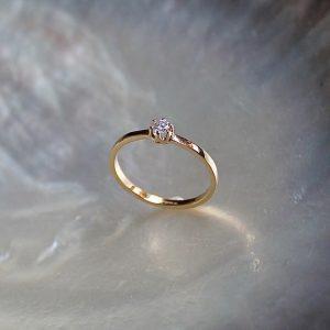 Diamantring Verlobung Angebot Brillant