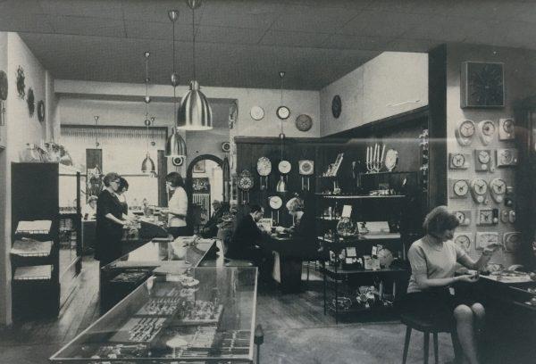 Haarhaus historischer Verkaufsraum